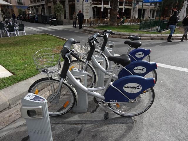 Valência - Bicicletas Valenbisi