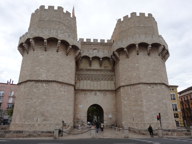 Valência - Torre del Serranos