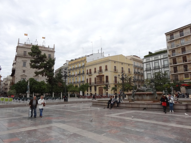 Valência - Plaza de la Virgen 2