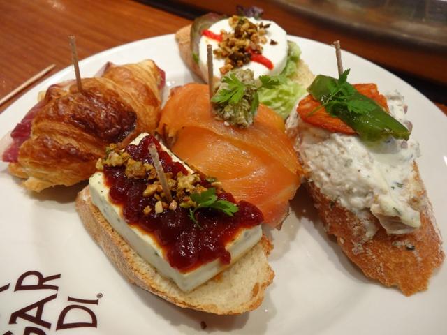 Valência - Restaurante Sagardi - Pintxos 2