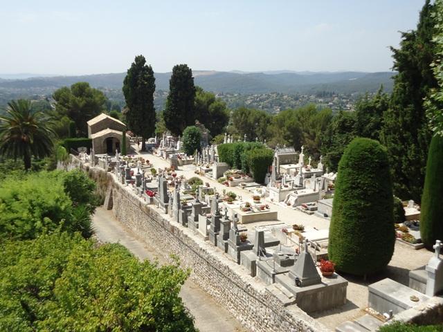 Saint Paul de Vence - Cemitério
