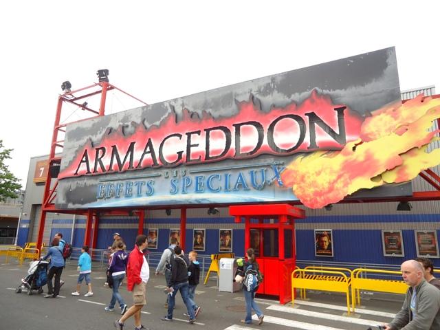 Disney Studios Park - Armageddon