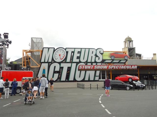 Disney Studios Park - Moteurs Action