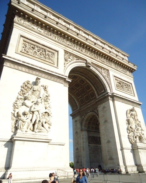 Paris - Arco do Triunfo