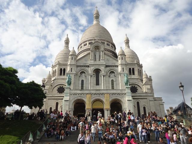 Paris - Basílica de Sacre Coeur