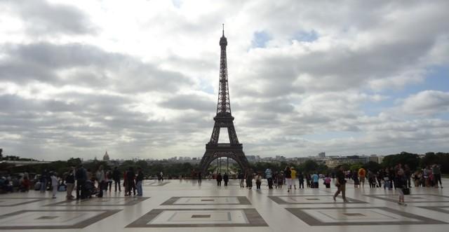 Paris - Torre Eiffel - Trocadero 1