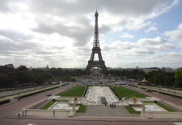Paris - Torre Eiffel - Trocadero 2