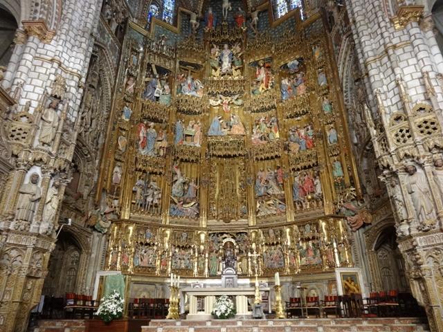 Toledo - Catedral Altar