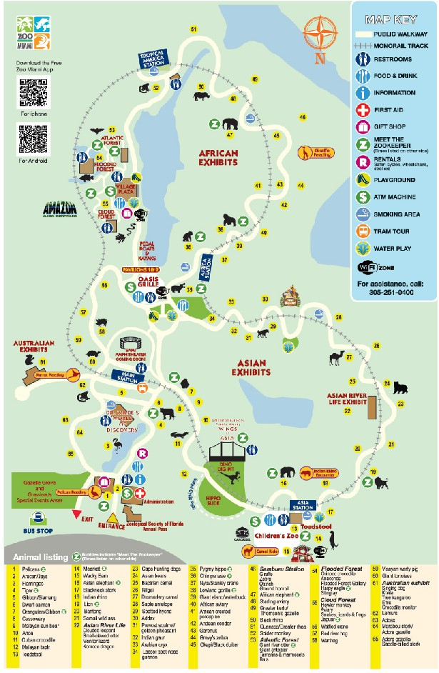 Miami_Zoo_Map