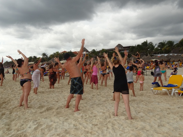 Playa del Carmen Iberostar - Aerobica