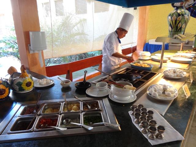 Playa del Carmen Iberostar - Cafe da manha 1
