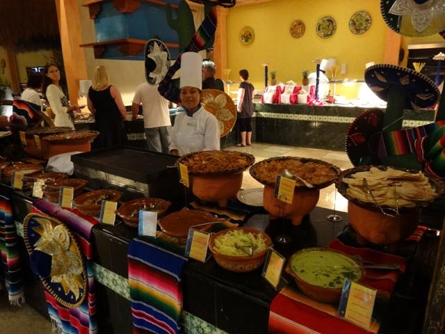 Playa del Carmen Iberostar - Restaurante Tulum 2