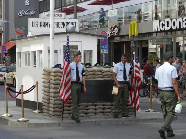 Berlim - Checkpoint Charlie