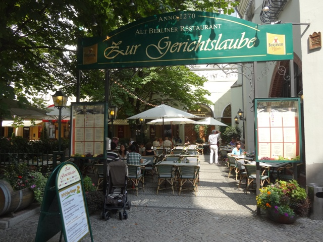 Berlim Restaurant Zur Gerichtslaube