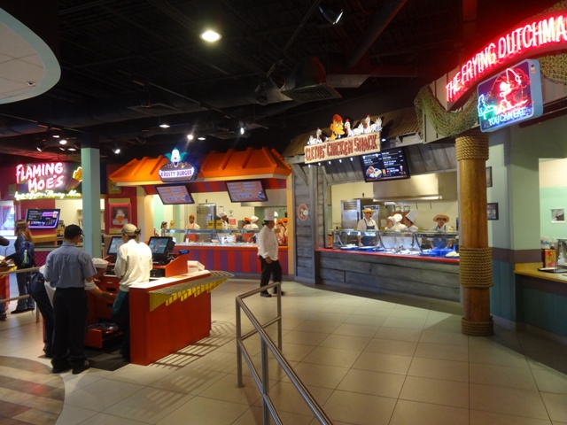 Universal fast food boulevard