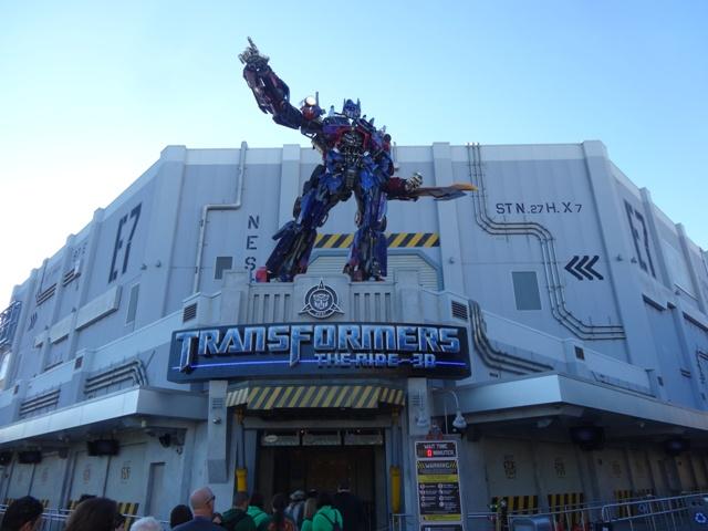 Universal Studios - Transformers