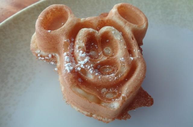 Disney Cruise - Mickey Waffle