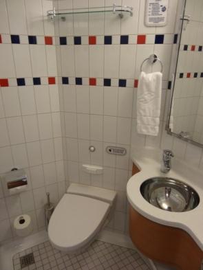 Disney Cruise Cabine Banheiro