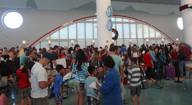 Disney Cruise Checkin