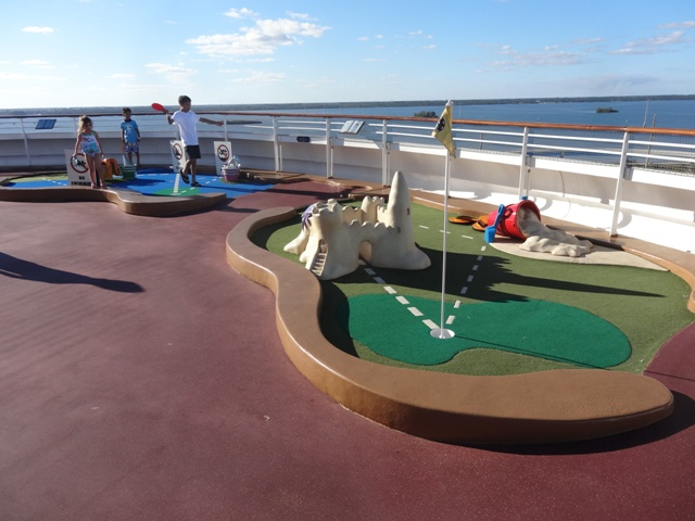 Disney Dream Minigolfe