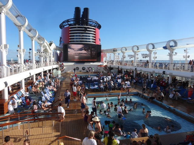 Disney dream piscina