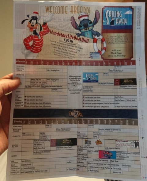 disney_dream_programcao