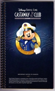Disney Cruise Spiral Booklet