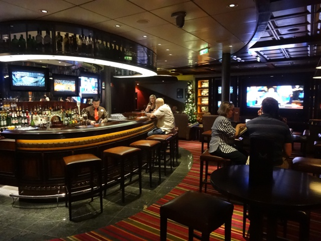 Disney cruise Sports Bar