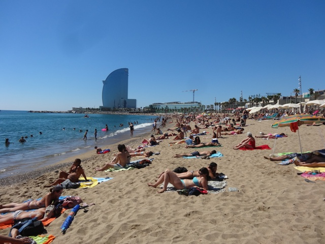 Barcelona Playa Sant Sebastia