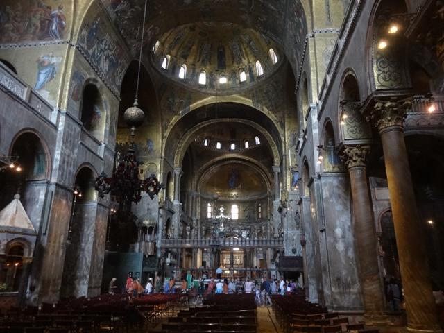 Resultado de imagem para Na catedral de S. Marcos, em Veneza